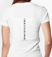 THERE iS AN unlimited AMOunt of Things 2 Do Womens Fitted T-Shirt