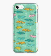 Cute Crocodiles iPhone Case/Skin