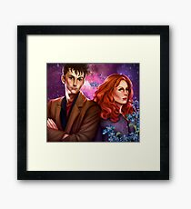 Donna and the Doctor Framed Print