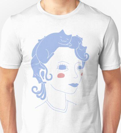 Cat Hair Girl T-Shirt