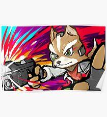 Fox | Blaster Shot Poster