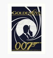 GoldenEye 007 - James Bond Poster/Print Art Print