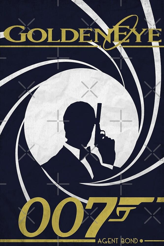 GoldenEye 007 - James Bond Poster/Print by Simon Turner