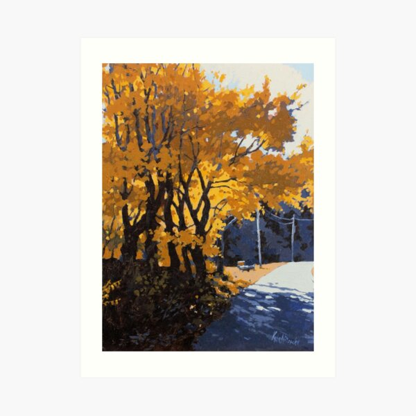 Schwartz Farm Road Art Print