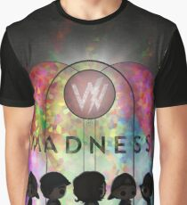 Light through stained glass/Madness Graphic T-Shirt