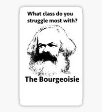 bourgeoisie Sticker