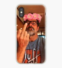Jeffrey Dean Morgan Flower Crown iPhone Case