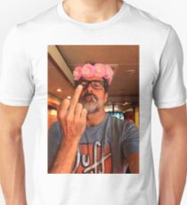 Jeffrey Dean Morgan Flower Crown T-Shirt