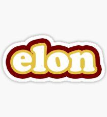 Elon retro Sticker