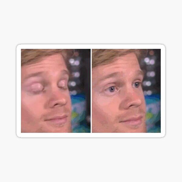 Blinking Guy Meme Sticker
