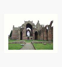 Dryburgh Abbey Art Print