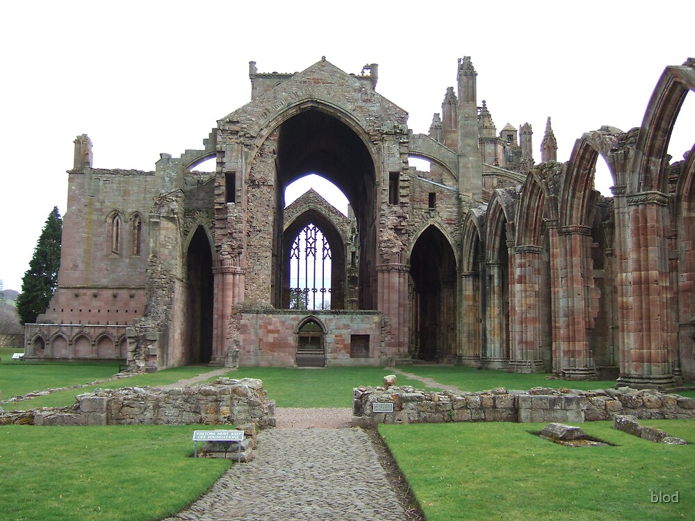 Dryburgh Abbey by blod