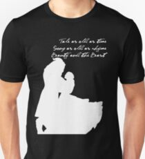 Tale as old as time (White) Unisex T-Shirt