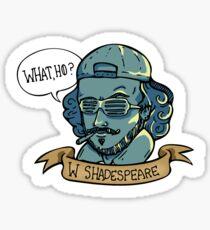 William Shadespeare Sticker