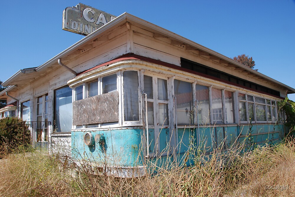 Abandoned Diner by socalgirl