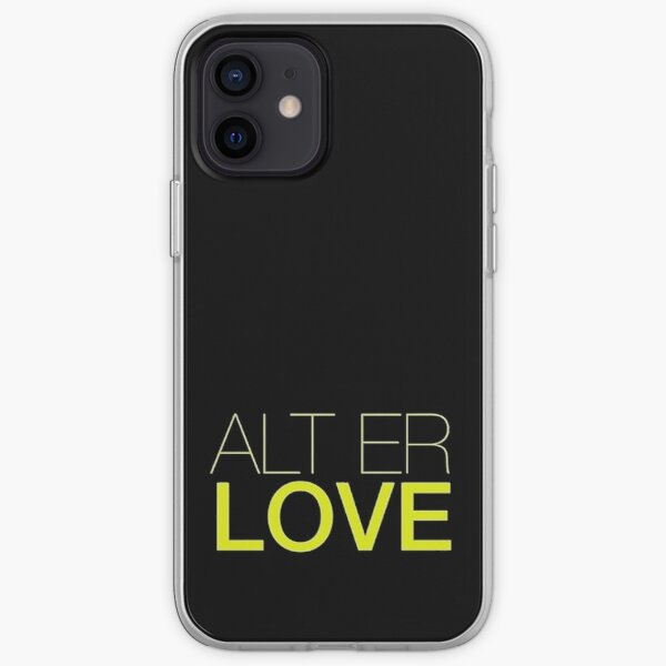 Alt er love iPhone Soft Case