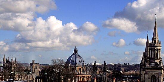 oxford spires by gashwen