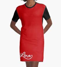 LOVE Graphic T-Shirt Dress