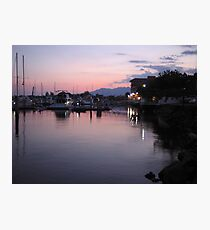 Subic Bay Yacht Club, Philippines Photographic Print