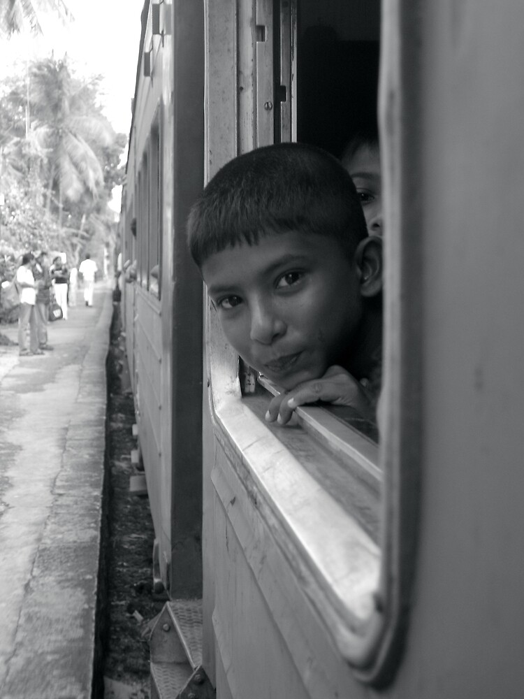 Train From Colombo by gaylebaird