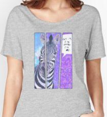 Comic-Buch Zebra Baggyfit T-Shirt
