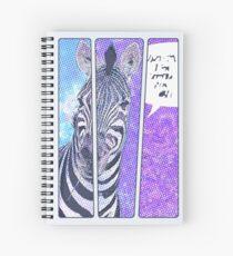 Comic-Buch Zebra Spiralblock