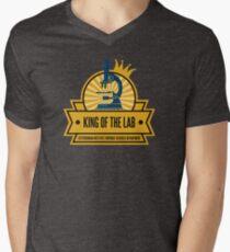 Jeffersonian's King of the Lab! Men's V-Neck T-Shirt