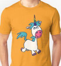 Joyous Cartoon Unicorn by Cheerful Madness!! T-Shirt
