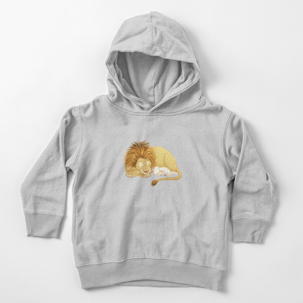 Lion and Lamb Toddler Pullover Hoodie