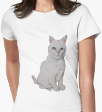 Kitty Women's Fitted T-Shirt