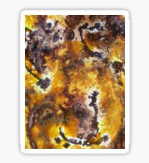 Earthworks abstract Sticker