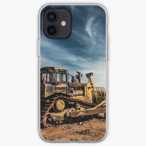 Abandoned Bulldozer iPhone Soft Case