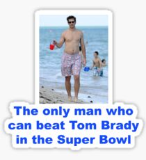 Eli > Brady Sticker