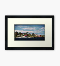 Big Tancook Island Houses Framed Print