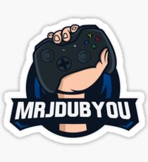 MrJDubYou Gaming Sticker