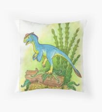 Proceratosaurus Bradleyii Throw Pillow
