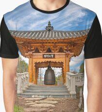 Korean Bell Garden Graphic T-Shirt