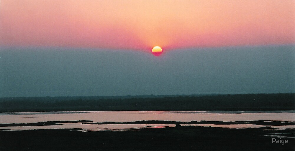 Ubirr Sunset by Paige