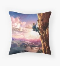 Breath Of The Wild Throw Pillow