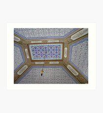 Topkapi Ceiling Art Print