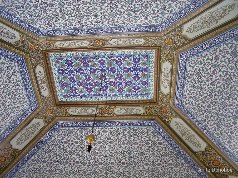 Topkapi Ceiling by Anita Donohoe