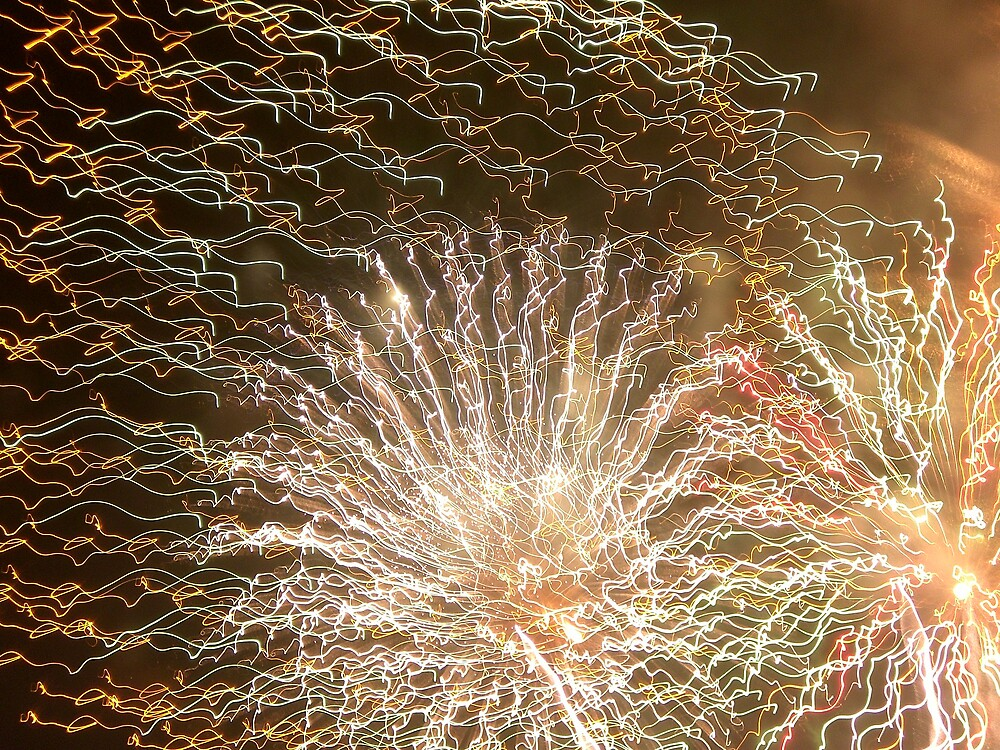 Confetti Fireworks by Steven Slusher