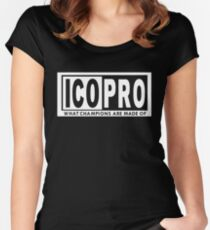 ICO PRO Women's Fitted Scoop T-Shirt