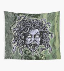 Medusa Gorgon Wall Tapestry