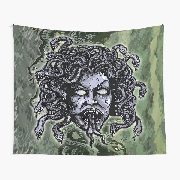 Medusa Gorgon Tapestry