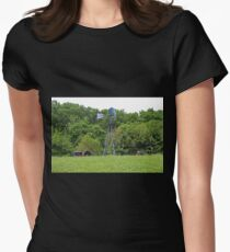 Vintage Farm Equipment Womens Fitted T-Shirt