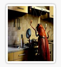 Hell's Cockroach Kitchen Sticker