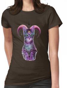 satanic Womens Fitted T-Shirt