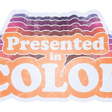 Presented in Color by SeminalDesigner
