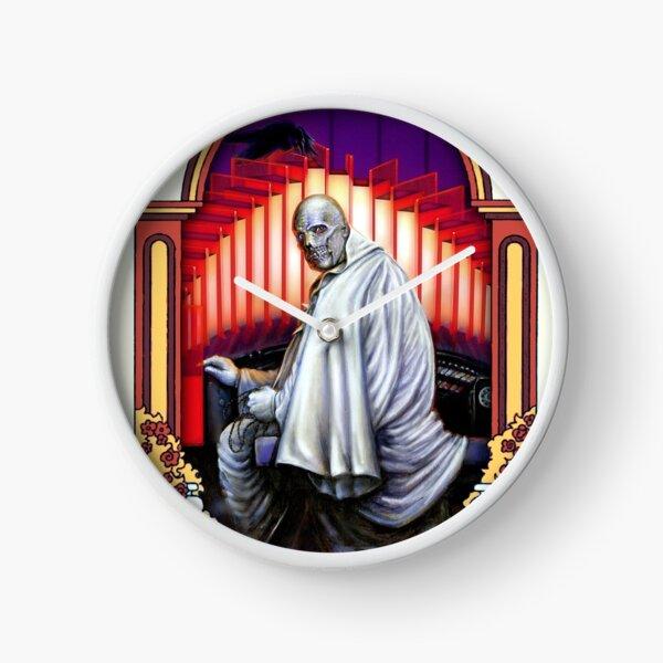 Phantom Spectre at the organ Clock